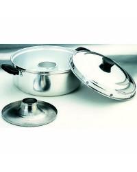 Cacerola Horno 26 Cms, Aluminio, Valido Para Cocinas De Gas Ibili 100626