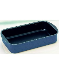 Caja de 6 uds de Rustidera Blu 35X24X6 Cms, Aluminio, Especial Horno Ibili 330035