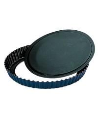 Caja de 6 uds de Molde Rizado Movil Blu 28 Cms, Aluminio Ibili 331328