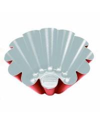 Caja de 12 uds de Flanero Rizado Cupra 10 Cms. Aluminio Ibili 370210