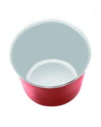 Caja de 12 uds de Flanero Individual Cupra 8 Cms. Aluminio Ibili 370308