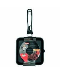 Caja de 4 uds de Grill Induplus Aluminio Fundido 18X18 Cms,  Valido Para Todas Las Cocinas Ibili 400318