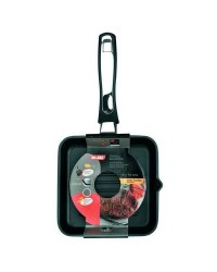 Caja de 4 uds de Grill Induplus Aluminio Fundido  24X24 Cms,  Valido Para Todas Las Cocinas Ibili 400324