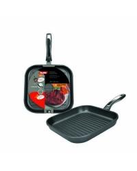 Caja de 4 uds de Grill Induplus Aluminio Fundido  28X28 Cm Valido Para Todas Las Cocinas Ibili 400328