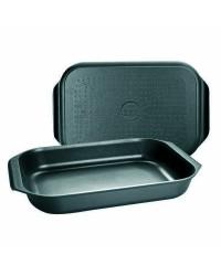 Caja de 4 uds de Fuente Horno-Plancha Aluminio Fundido Induplus 34X24X6 Ibili 401534