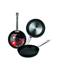 Caja de 6 uds de Sarten Indubistro Aluminio Fundido 22 Cms  Valido Para Todas Las Cocinas Ibili 402022
