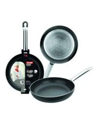 Caja de 6 uds de Sarten Aluminio I-Chef 28 Cm, Valida Para Todas Las Cocinas Ibili 403028