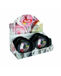 Caja de 6 uds de Tartera Aluminio Indubasic 14 Cms, Valida Para Todas Las Cocinas Ibili 405314