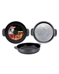 Caja de 6 uds de Tartera Aluminio Indubasic 20 Cms, Valida Para Todas Las Cocinas Ibili 405320