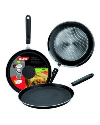 Caja de 6 uds de Sarten De Crepes Aluminio Indubasic 23 Cm, Valida Para Todas Las Cocinas Ibili 405823