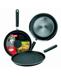 Caja de 6 uds de Crepiera Aluminio Indubasic 26 Cms, Valida Para Todas Las Cocinas Ibili 405826