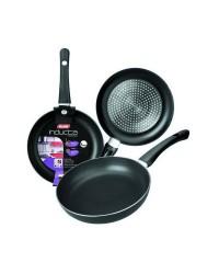 Caja de 12 uds de Sarten Aluminio Inducta 18 Cms, Valida Para Todas Las Cocinas Ibili 410018