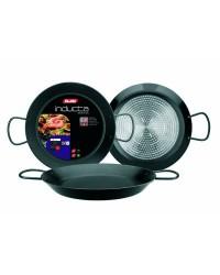 Caja de 2 uds de Paellera Aluminio Inducta 38 Cms, Valida Para Todas Las Cocinas Ibili 410238