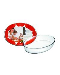 Caja de 6 uds de Fuente Horno Oval Kristall 40X27X6,50 Cm Ibili 480140