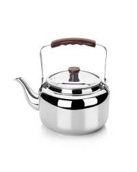 Cafetera Pava Acero Inoxidable 18/10 1,75 Lts, Fondo Capsulado, Valida Para Todas Las Cocinas Ibili 610201