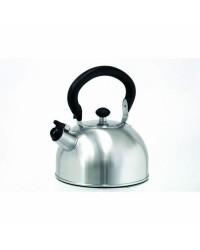Cafetera Silbante Acero Inoxidable 1,50 Lt, Fondo Capsulado, Valida Para Todas Las Cocinas Ibili 610415