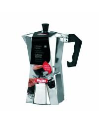 Cafetera Express Aluminio Bahia -3 Tazas, Valida Para Cocinas A Gas, Electricas Y Vitroceramicas Ibili 610903
