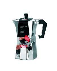 Cafetera Express Aluminio Bahia -6 Tazas, Valida Para Cocinas A Gas, Electricas Y Vitroceramicas Ibili 610906