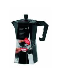 Cafetera Express Aluminio Bahia Black 1 Taza, Valida Para Cocinas A Gas, Electricas Y Vitroceramicas Ibili 612201