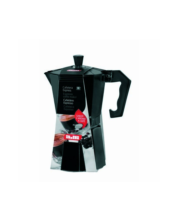 Ingrosso di caffettiera express alluminio bahia black 3 tazza valida per cucine a gas - Cucine a gas black friday ...