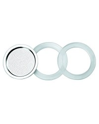Caja de 6 uds de 2 Juntas Silicona+1 Filtro Essential 10 Ibili 620353