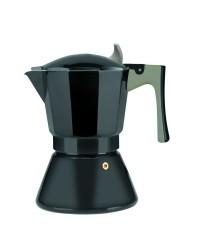 Cafetera Express Aluminio Il Sapore 6 Tazas, Valida Para Todas Las Cocinas Ibili 621306