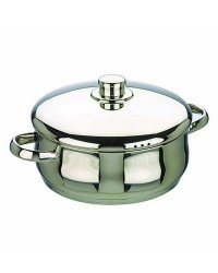 Cacerola Con Tapa Acero Inoxidable Oslo 16 Cms, Valida Para Todas Las Cocinas Ibili 662016