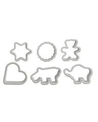 Caja de 12 uds de Cortapastas Plastico Ibili 701500