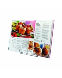Atril Para Libro De Cocina Acero Inoxidable Ibili 728000