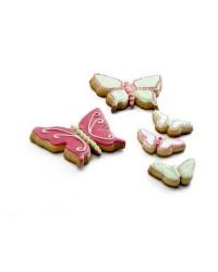 Caja de 6 uds de Set 2 Cortapastas Estañados Mariposa Ibili 735600