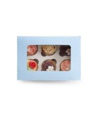 Caja de 12 uds de Caja Para 6 Cupcakes Ibili 737506