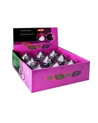 Caja de 9 uds de Guarda Cebollas-Caja Expositora Plastico Ibili 782502E