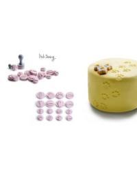 Caja de 6 uds de Minisellos Para Huellas Ibili 789600
