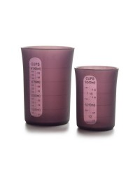 Vaso De Medidas Flexible 500 Ml, Silicona Ibili 790207