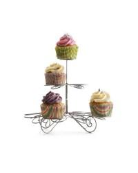 Soporte Para Cupcakes 13 Pc, Tapon Silicona Ibili 792800
