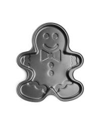 Caja de 6 uds de Molde Gingerman Chapa De Acero Con Antiadherente Ibili 828536