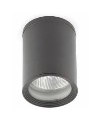 Plafoniera PAR30 da tetto in alluminio, grigio scuro - TASA