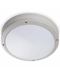 Lampada plafoniera E27 da tetto in ABS color bianco - YEN