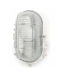 Lampada applique da parete per giardino esterno in PVC color bianco - CRIPTA