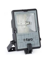 Faro proiettore RX7s 70W da esterno in PVC color nero + grigio - SATTA-1