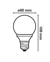 Lampadina LED E27 7W 420LM 3000K