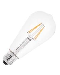 Lampadina LED E27 4W 460LM 2700K - Filamento
