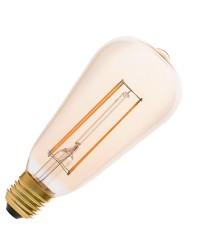 Lampadina LED E27 Filamento 4W 400lm 2200K Ambra