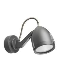 Proiettore GU10 max. 50W in alluminio color grigio scuro - ALIEN