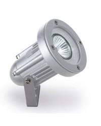Proiettore GU10 max. 50W in alluminio color grigio - HELIO