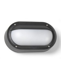 Lampada applique grigio scuro da esterno - BASIC
