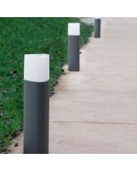 Lampioncino 80cm grigio scuro da esterno - MANDELA