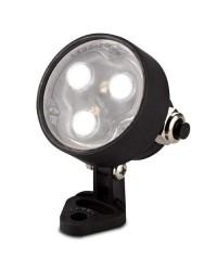 Lampada LED Ø76mm 7W 489LM per piscina IP68 color nero - AQUA