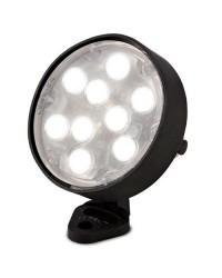 Lampada LED Ø104mm 21W 1467LM per piscina IP68 color nero - AQUA