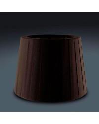 Paralume marrone Ø260mm